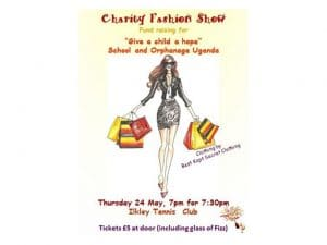 Fundraiser - Fashion Show May 24th 7pm for 7:30pm Tennis Club